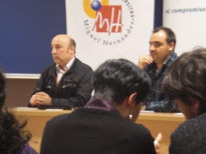 Agustón Vico y J.L. González